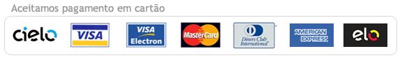 Aceitamos pagamento em cartão